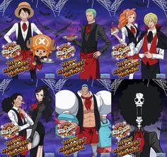 One piece Halloween 👻 Zoro, One Piece 1, Nico Robin, Pirates, Halloween, Anime, Stars, Cartoon Movies, Sterne