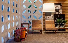 Lounge galeria, de Leo Shehtman - Casa Cor 2014 Cobogós