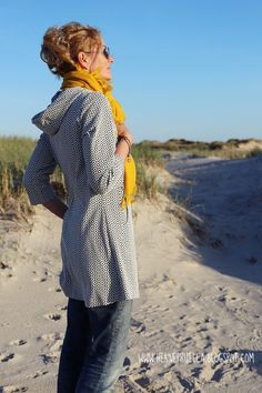 Pruella jErika Jacke ohne Reißverschluss Diy Sewing Projects, Sewing Blogs, Heutiges Outfit, Couture, Mantel, Vintage, Inspiration, Zip, Fashion