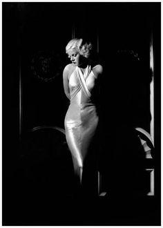 MOnroe was inspired by JH                      George Hurrell - Jean Harlow 1932/35 Kobal