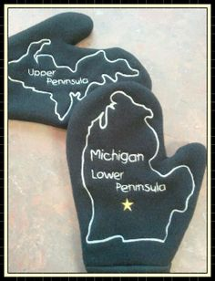 Michigan - the ONLY mitten state!
