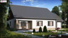 Z131 NF40 to wyjątkowy dom z kategorii projekty domów energooszczędnych Building A House, Shed, Outdoor Structures, Outdoor Decor, Home Decor, Pools, Image, Tiny Houses, Build House
