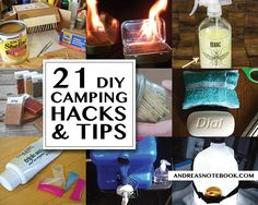 Camping hacks and tips you didn't know!