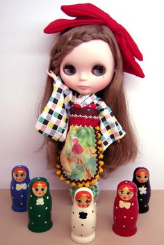 Kimono & rusian dolls