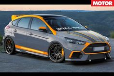 Ford Focus RS Roush gets 372kW