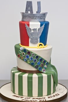 eagle scout cake - Google Search                                                                                                                                                                                 More