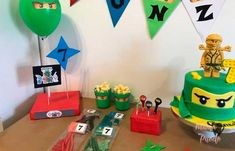 detalles fiesta ninjago Ideas Para, Home Decor, Free Coloring Pages, Party, Decoration Home, Room Decor, Home Interior Design, Home Decoration, Interior Design