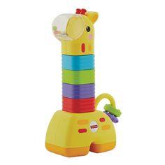 Fisher-Price Little Stackers Giraffe, Multicolor