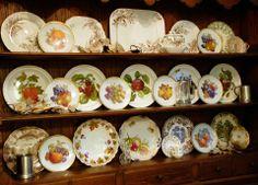 Harvest plates... So so pretty!
