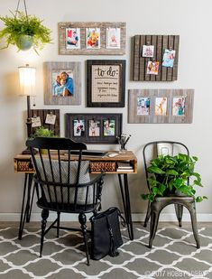Transform Any Space Into A Trendy Command Center With Versatile Wall  Frames. Office Decor,