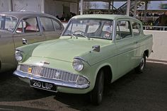 Ford Anglia Deluxe this is the colour of my first car ANN 70s Cars, Cars Uk, My Dream Car, Dream Cars, Ford Anglia, Ford Classic Cars, First Car, Cars Motorcycles, Cool Cars