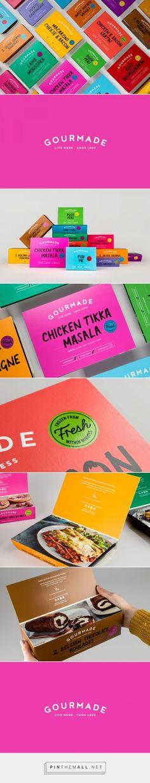 Gourmade frozen food packaging design by Robot Food - http://www.packagingoftheworld.com/2018/02/gourmade.html