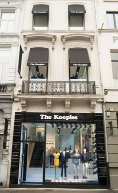 The Kooples Bruxelles - 72, Avenue Louise #bruxelles #belgium #thekooples #store #design