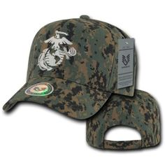 Magnet Rifleman Marine Corps MOS 0311 USMC US Marine Corps Military Cap Baseball Hat Adjustable Black