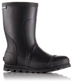 Sorel Women s Joan Rain Short Boots Black 10.5 Sorel Rain Boots e15c619501