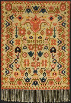 Ribbon Work, Tapestry Weaving, Finland, Dress Patterns, Wool Rug, Bohemian Rug, Folk, Collage, Textiles