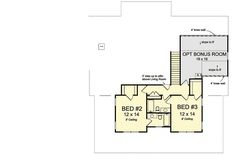 Expanded Farmhouse Plan with 3 or 4 Beds - 52269WM | Country, Farmhouse, 1st Floor Master Suite, Bonus Room, Butler Walk-in Pantry, Den-Office-Library-Study | Architectural Designs