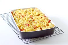 Bloemkool ovenschotel met ham en kaas