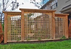 backyard privacy walls - A Modern Privacy Screen Design Privacy Landscaping, Outdoor Privacy, Backyard Privacy, Modern Landscaping, Landscaping Ideas, Inexpensive Landscaping, Landscaping Contractors, Landscaping Software, Landscaping Melbourne
