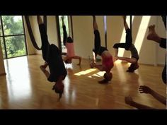 Thinking of trying it out AERIAL YOGA at the Triangle Yoga Shala in Chapel Hill, NC