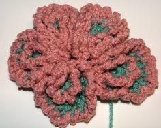 Crochet Flower - Made from Plain Old Circles | Crochet Flowers - Free Patterns