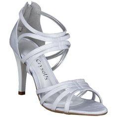 Sandália Crysalis Branca #Noivas #Casamento #Sapatos #Love #Shoes #Trends #Style #Fashion