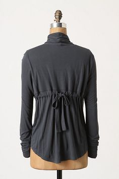 the back