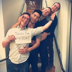 Keith Habersberger // Eugene Lee Yang // Ned Fulmer // Zach Kornfeld // Buzzfeed // The Try Guys
