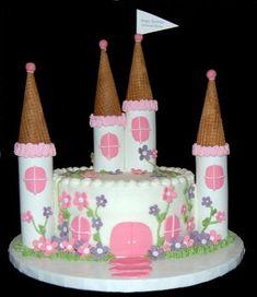 small princess castle cake | Flickr