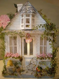 Sprinkled With Love Cottage Dollhouse