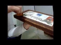 Caixa masculina técnica  ferrugem