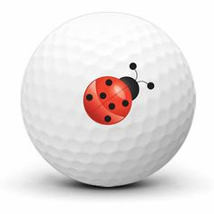 Logo Golf Ball With Lady Bugs by Adamo Golf on Opensky