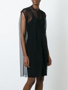 Rick Owens Lilies прозрачное платье без рукавов