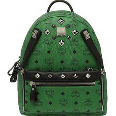 MCM Backpack Worldwide Small 2014 Green