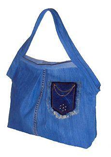 Джинсовая сумка - выкройка + описание! - Шедевры рукоделия и дизайна - Группы Мой Мир