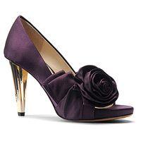 Classy purple wedding or dress shoes. Isola Tate - Women's - Shoes - Purple
