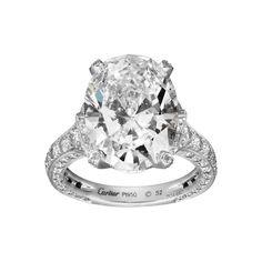 Cartier Сushion Сut Engagement Rings