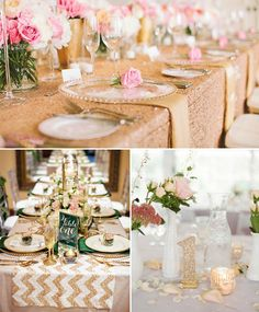 glitter wedding.... Love this! It's so me!