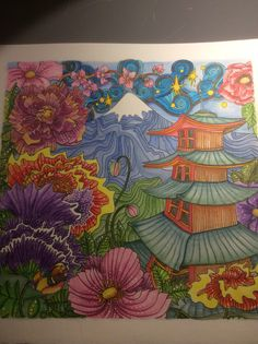 Magical City coloring book by Lizzie Mary Cullen