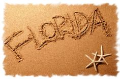 Florida would be a great place to sink your feet in the sand!