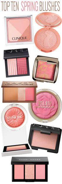 Top 10 Spring Blushes