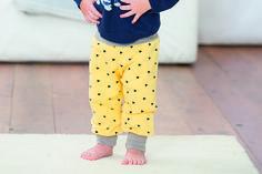Freebook Pumphose für Kinder 56-98 aus dem Buch nähen mit Jersey