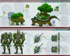 Pokemon Hunter: Torterra by PursuerOfDarkness on DeviantArt