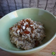Easy and fast couscous for breakfast - www.lovegreencity.be