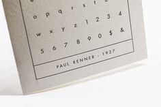 Glyph Series - Futura – Clove St Press