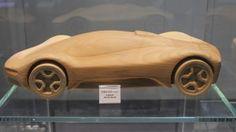 Pininfarina Sintesi Wooden model