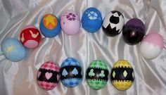 Shugo Chara Eggs by AmethystInk on DeviantArt Shugo Chara, Cosplay Diy, Best Cosplay, Different Art Styles, Kawaii Accessories, Arts And Crafts, Diy Crafts, Cardcaptor Sakura, Egg Decorating