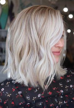 59 Icy Platinum Blonde Hair Ideas: Platinum Hair Color Shades to Inspire Short Platinum Blonde Hair, Platinum Blonde Balayage, Platinum Blonde Hair Color, Grey Blonde Hair, Blonde Hair Undercut, White Blonde Bob, Grey White Hair, Men Undercut, Blonde Highlights