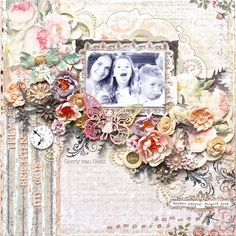 They Brighten My Days (Stupendous layout) ~Prima Marketing~ - Scrapbook.com