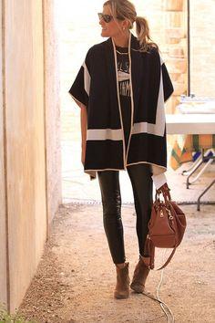 Elle Trendsetter » Today I´m wearing: Ponchos